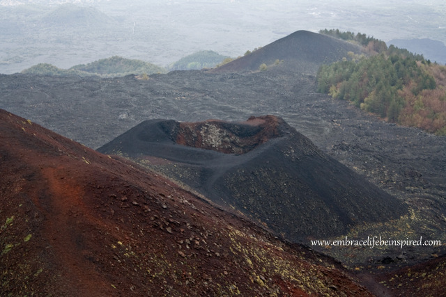 Silvestri Crater at Mt Etna