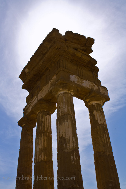 Temple of Castor and Pollux, Valley of the Temples