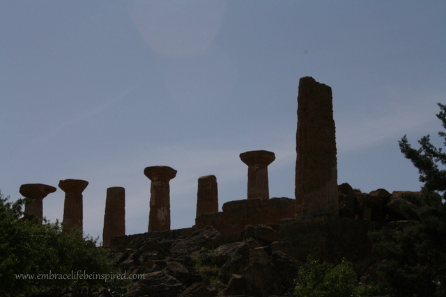 Greek ruins in Agrigento
