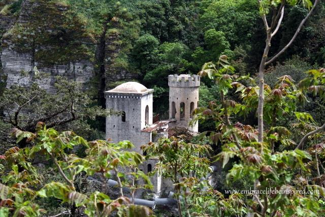 Medieval castle in Erice, Sicily