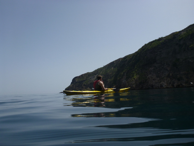 Kayaking in Sicily, photo by Eugenio at SicilyinKayak.com
