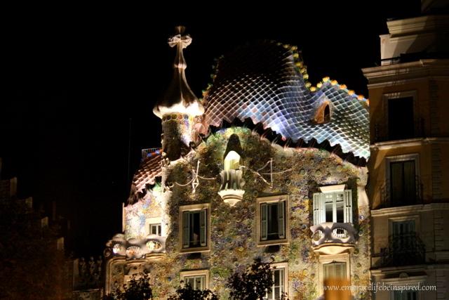 Barcelona Spain, Gaudi