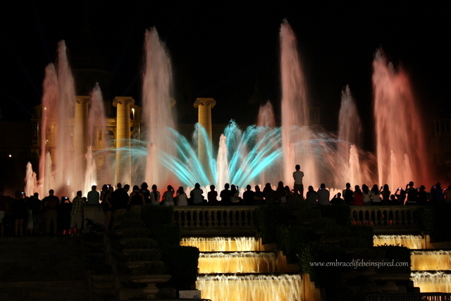 Magic Fountain, Barcelona Spain