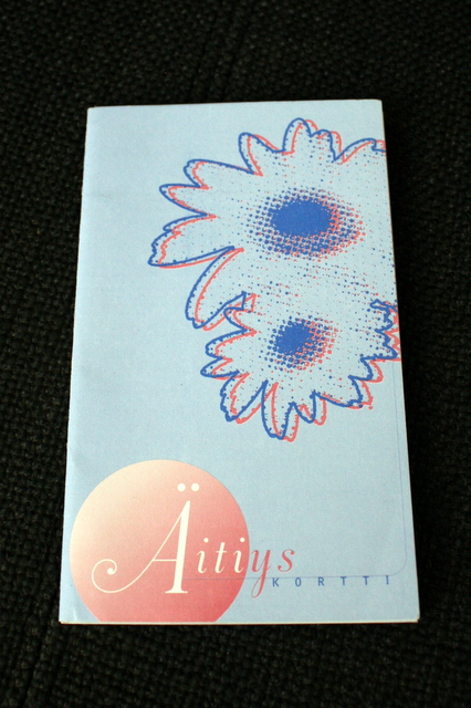 Finnish Maternity Card - front